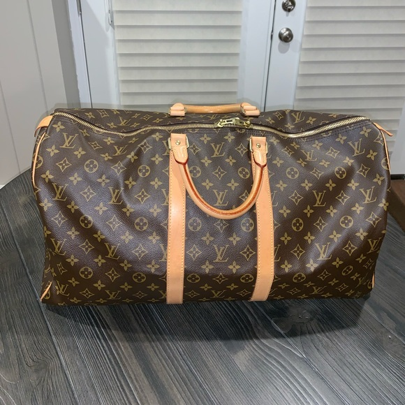 Louis Vuitton Handbags - Louis Vuitton Monogram Keepall 55